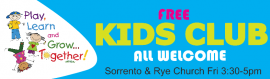 Kids Club at Sorrento
