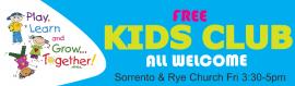Kids Club at Sorrento