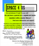 Space4Us flyer