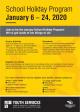 MPYS Holiday program Jan 2020